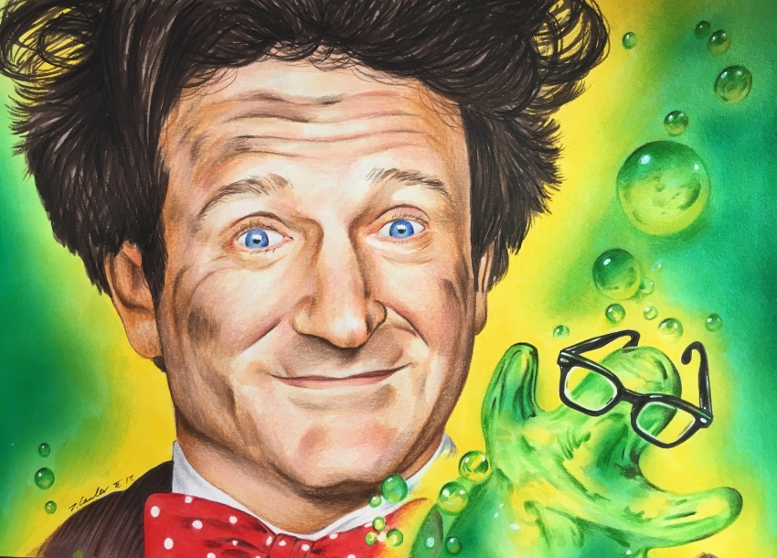 Robin Williams by TraceyLawler